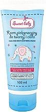 Düfte, Parfümerie und Kosmetik Beruhigende und schützende Gesichts- und Körpercreme für Babys - Pharma CF Sweet Baby Face And Body Soothing Cream