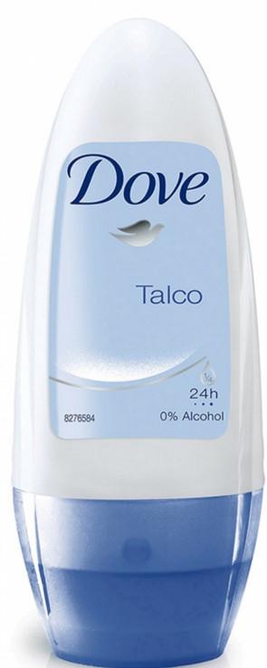 Deo Roll-on Antitranspirant - Dove Talco 24H Deodorant Roll-On — Bild N1