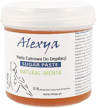 Zucker-Enthaarungspaste mit Minzduft - Alexya Sugar Paste Natural Menta — Bild N1