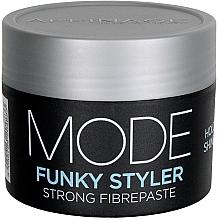 Düfte, Parfümerie und Kosmetik Mattierende Haarpaste mit starker Fixierung - Affinage Mode Funky Styler Strong Fibrepaste