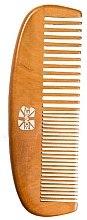 Düfte, Parfümerie und Kosmetik Holziger Haarkamm - Ronney Professional Wooden Comb 121