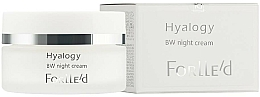Düfte, Parfümerie und Kosmetik Aufhellende Nachtcreme - ForLLe'd Hyalogy BW Night Cream