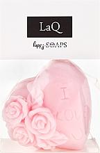 Düfte, Parfümerie und Kosmetik Handgemachte Naturseife Ich liebe Dich mit Kirschduft - LaQ Happy Soaps Natural Soap
