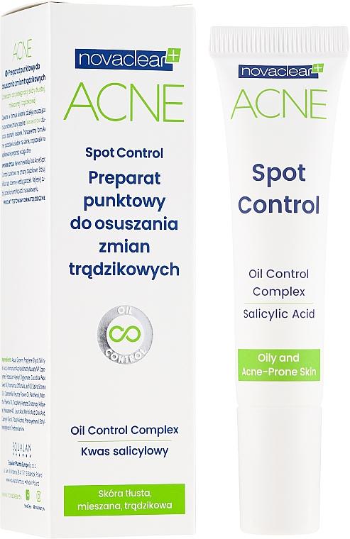 Gesichtsgel mit Salicylsäure gegen Akne - Novaclear Acne Spot Control — Bild N1