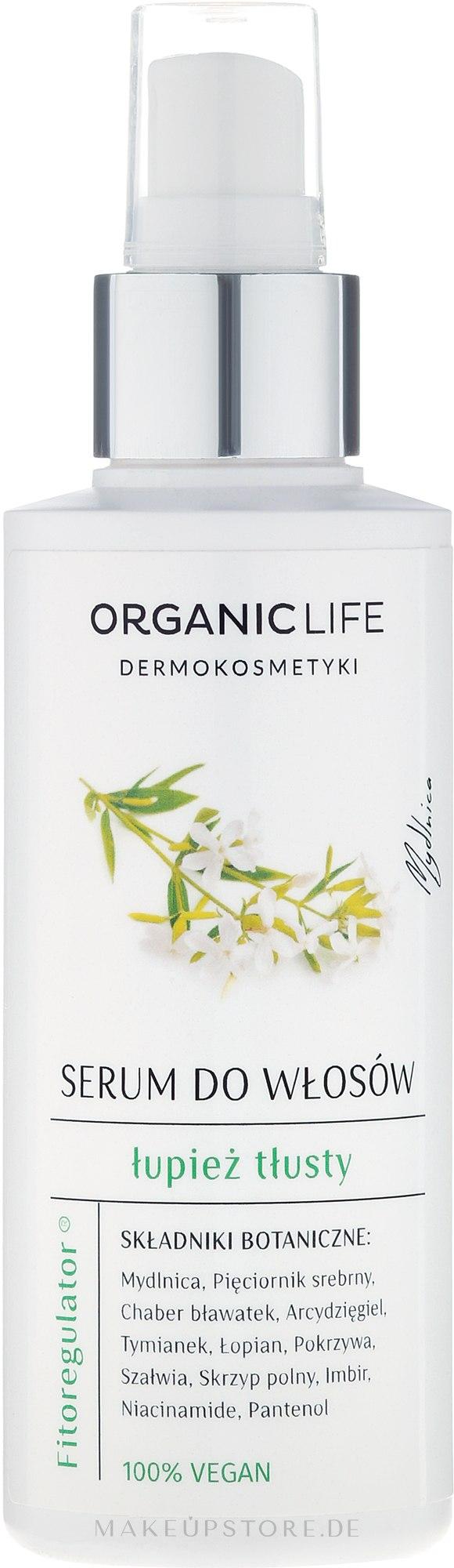 Anti-Schuppen Haarserum - Organic Life Dermocosmetics Serum — Bild 150 g
