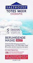Düfte, Parfümerie und Kosmetik Beruhigende Gesichtsmaske mit Salz aus dem Toten Meer - Salthouse Totes Meer Face Mask
