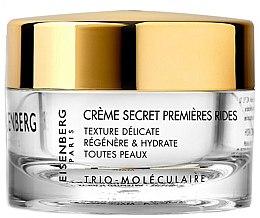 Düfte, Parfümerie und Kosmetik Regenerierende und feuchtigkeitsspendende Gesichtscreme gegen die ersten Falten - Jose Eisenberg Creme Secret Premieres Rides