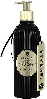 Vivian Gray Vivanel Neroli & Ginger - Schützende und feuchtigkeitsspendende Körperlotion — Bild N1