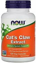Düfte, Parfümerie und Kosmetik Nahrungsergänzungsmittel Katzenkralle-Extrakt zur Stärkung des Immunsystems - Now Foods Cat's Claw Extract