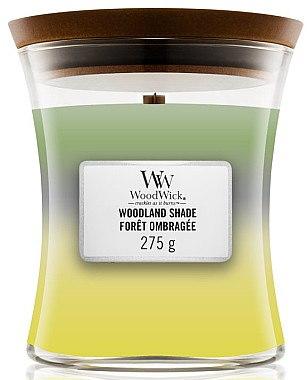 Duftkerze im Glas Woodland Shade - WoodWick Hourglass Trilogy Candle Woodland Shade — Bild N2