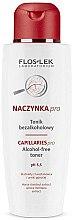 Düfte, Parfümerie und Kosmetik Erfrischendes Gesichtstonikum für normale und Mischhaut - FlosLek Dilated Capillaries Alcohol-Free Toner pH 5,5