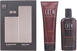 Düfte, Parfümerie und Kosmetik American Crew Daily Duo Gift - Haarpflegeset (Shampoo 250ml + Haargel 250ml)
