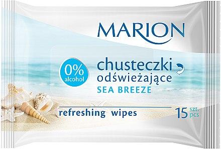 Erfrischende Feuchttücher Meeresbrise 15 St. - Marion — Bild N1