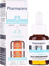 Düfte, Parfümerie und Kosmetik Gesichtskonzentrat mit Vitamin A und E - Pharmaceris A A&E Sensilix Duo Concentrate