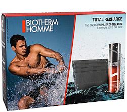 Düfte, Parfümerie und Kosmetik Gesichtspflegeset für Männer (Gel 50ml + Portemonnaie) - Biotherm Set Homme Total Recharge