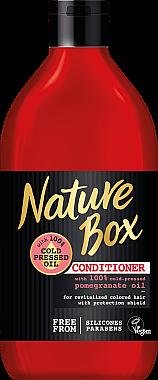 Revitalisierende Haarspülung mit Granatapfel-Öl für langanhaltender Farbschutz - Nature Box Pomegranate Oil Conditioner — Bild N1