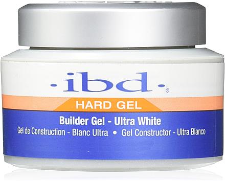 Aufbau Nagelgel ultra weiß - IBD Builder Gel Ultra White — Bild N1