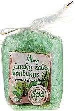 Düfte, Parfümerie und Kosmetik Badesalz mit Bambus und Feldgräser - Aqua Amber Spa