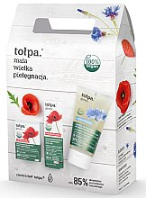 Düfte, Parfümerie und Kosmetik Gesichtspflegeset - Tolpa Green (Gesichtscreme 50ml + Augencreme 15ml + Gel 150ml)
