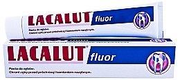 Zahnpasta zur Stärkung des Zahnschmelzes - Lacalut Fluor — Bild N1