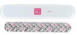 Düfte, Parfümerie und Kosmetik Nagelfeile mit Etui - Ilu Nail File With Case Medium 240/240