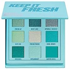 Düfte, Parfümerie und Kosmetik Lidschattenpalette - Makeup Obsession Keep It Fresh Shadow Palette