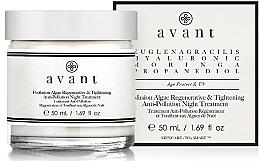 Düfte, Parfümerie und Kosmetik Regenerierende und straffende Nachtcreme mit Algen - Avant Profusion Algae Regenerative and Tightening Anti-Pollution Night Treatment