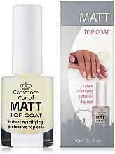 Düfte, Parfümerie und Kosmetik Nageldecklack matt - Constance Carroll Matt