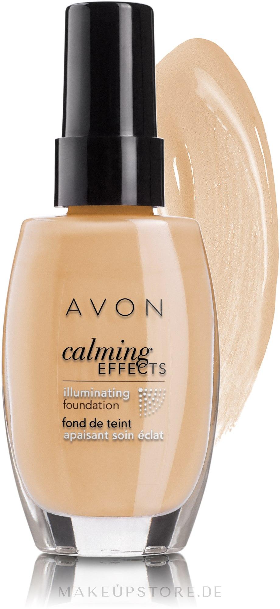 Illuminierende und beruhigende Foundation - Avon Calming Effects — Bild Cream