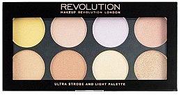 Düfte, Parfümerie und Kosmetik Highlighter Palette - Makeup Revolution Ultra Strobe and Light Palette