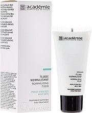 Düfte, Parfümerie und Kosmetik Normalisierendes Gesichtsfluid für fettige Haut - Academie Normalizing Fluid
