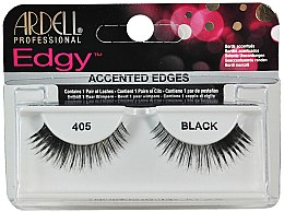 Düfte, Parfümerie und Kosmetik Künstliche Wimpern - Ardell Edgy Lash 405 Black