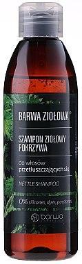Shampoo für fettiges Haar mit Brennnesselextrakt - Barwa Herbal Shampoo — Bild N1