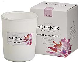 Düfte, Parfümerie und Kosmetik Duftkerze im Glas Bubbles & Blessings - Bolsius Accents 92 mm x Ø76 mm