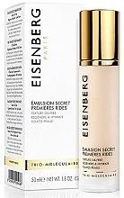 Düfte, Parfümerie und Kosmetik Feuchtigkeitsspendende Gesichtsemulsion gegen die ersten Falten - Jose Eisenberg First Wrinkles Tender Emulsion