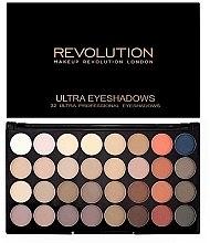 Düfte, Parfümerie und Kosmetik Lidschatten-Palette mit 32 Farben - Makeup Revolution Ultra 32 Shade Palette Flawless Matte 2
