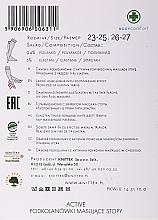 Damenkniestrümpfe mit Fußmassageeffekt Active 20 Den visione - Knittex — Bild N2