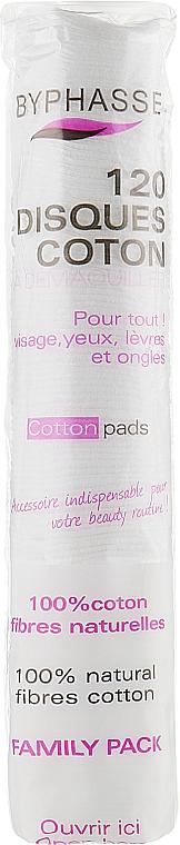 Kosmetische Wattepads 120 St. - Byphasse Cotton Pads — Bild N1