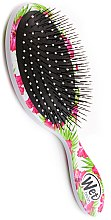 Haarbürste - Wet Brush Detangle Professional Pink Floral — Bild N3