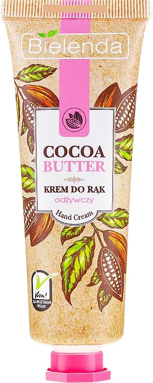 Nährende Handcreme mit Kakaobutter - Bielenda Nourishing Hand Cream — Bild N1