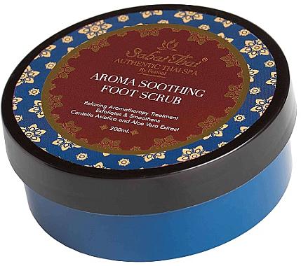 Beruhigendes Fußpeeling mit Indischem Wassernabel und Aloe Vera - Sabai Thai Jasmine Aroma Soothing Foot Scrub — Bild N1