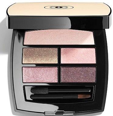 Lidschatten-Palette - Chanel Les Beiges Healthy Glow Eye Shadow Palette Light — Bild N1