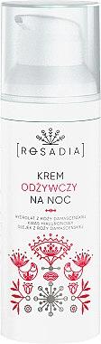 Pflegende Nachtcreme mit Damaszener Rosenwasser und Hyaluronsäure - Rosadia — Bild N2