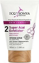Düfte, Parfümerie und Kosmetik Gesichtspeeling mit Acai-Beere - Eco by Sonya Super Acai Exfoliator