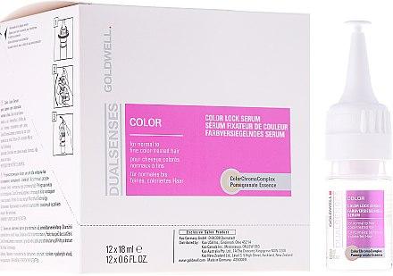 Farbversiegelndes Serum für normales bis feines, coloriertes Haar - Goldwell Dualsenses Color Lock Serum  — Bild N1