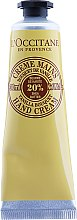 Handcreme - L'occitane Hand Cream Shea Butter Vanilla — Bild N1