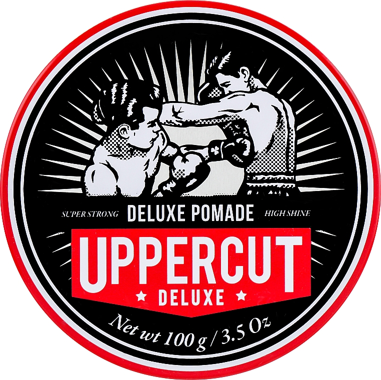 Haarpomade Starker Halt - Uppercut Deluxe Pomade Barber Tin — Bild N1