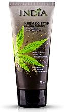 Düfte, Parfümerie und Kosmetik Regenerierende Fußcreme mit Hanföl - India Foot Cream With Cannabis