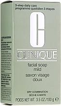 Düfte, Parfümerie und Kosmetik Milde Gesichtsseife für normale und empfindliche Haut - Clinique Facial Soap Mild