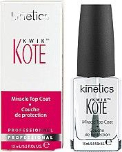 Düfte, Parfümerie und Kosmetik Schnelltrocknender Nagelüberlack mit Glanz-Effekt - Kinetics Kwik Kote Miracle Top Coat